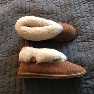 Emu slipper boots shoes size 5